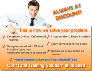 Online training certification discount coupon